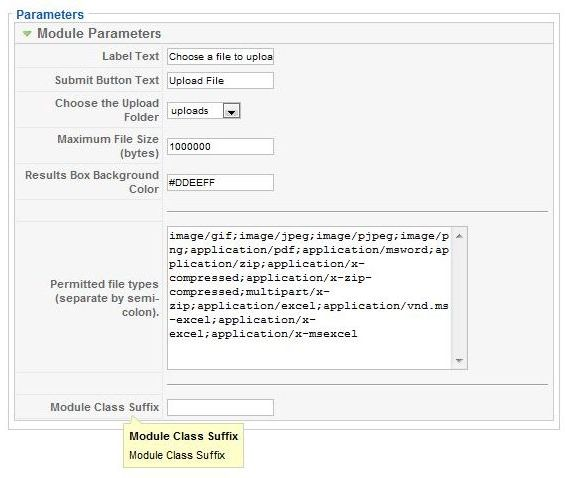 joomla module easy file uploader michael s blog site